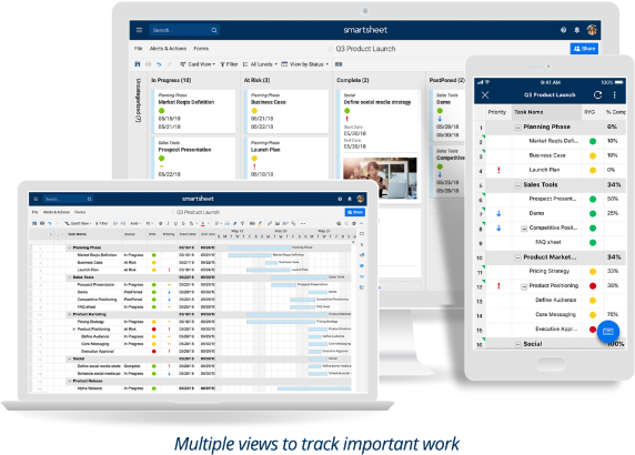 Smartsheet software