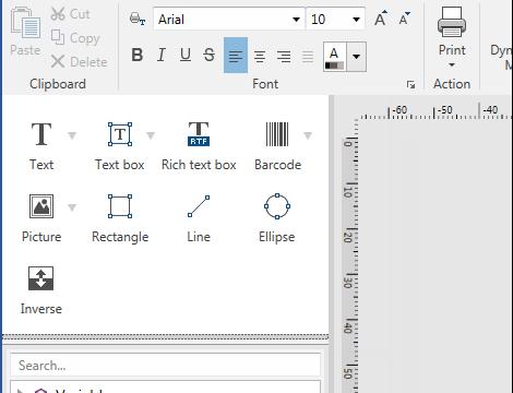 Label software functionaliteiten